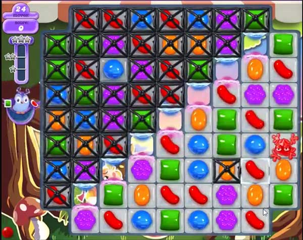 candy crush dreamworld level 652