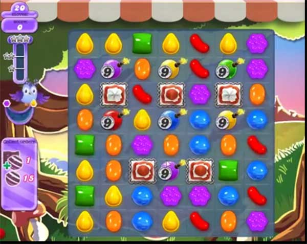 candy crush dreamworld level 655