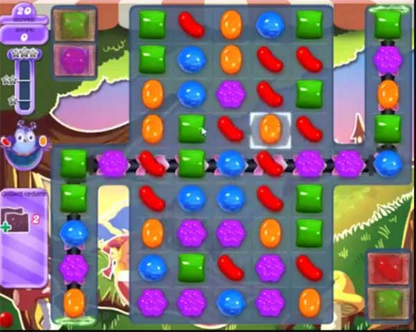 candy crush dreamworld level 656