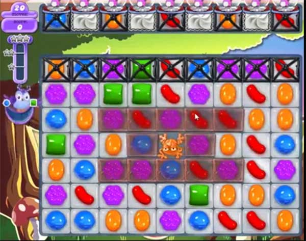 candy crush dreamworld level 658