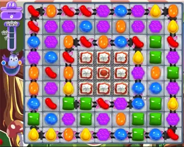 candy crush dreamworld level 659