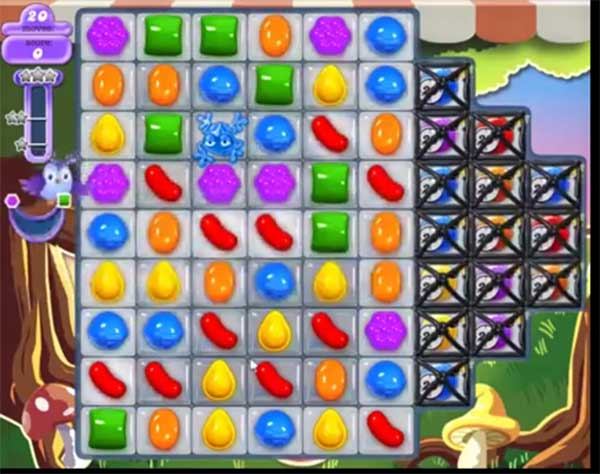 candy crush dreamworld level 663