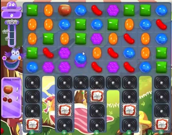 candy crush dreamworld level 664