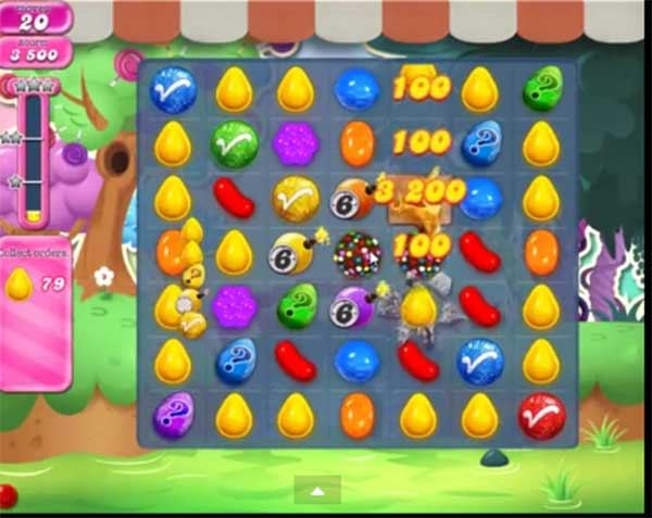 candy crush level 951
