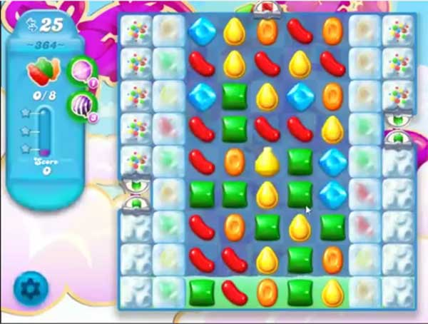 candy crush soda level 364