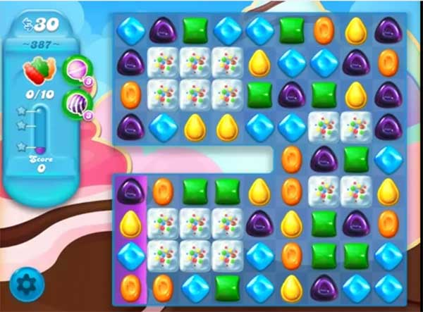 candy crush soda level 387