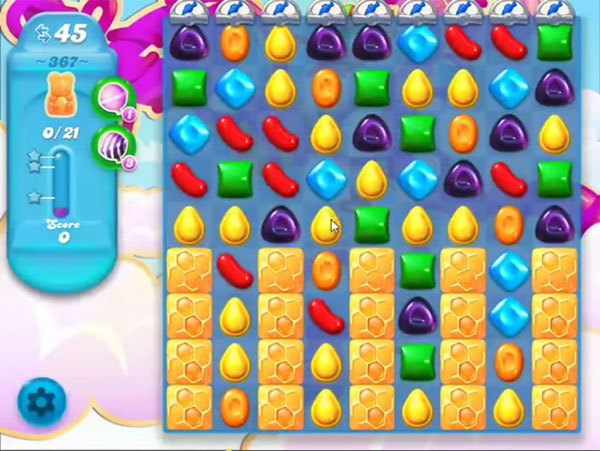 candy soda crush level 367