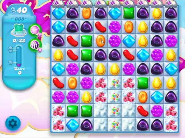 candy soda crush level 368