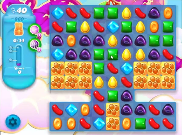 candy soda crush level 369
