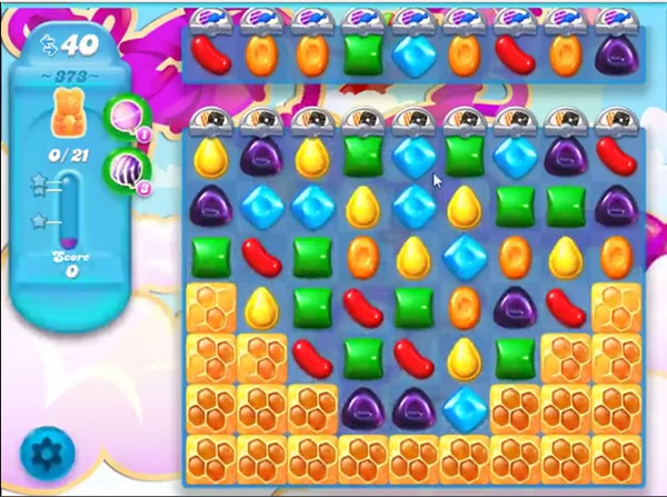 candy soda crush level 373