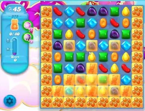 candy soda crush level 375