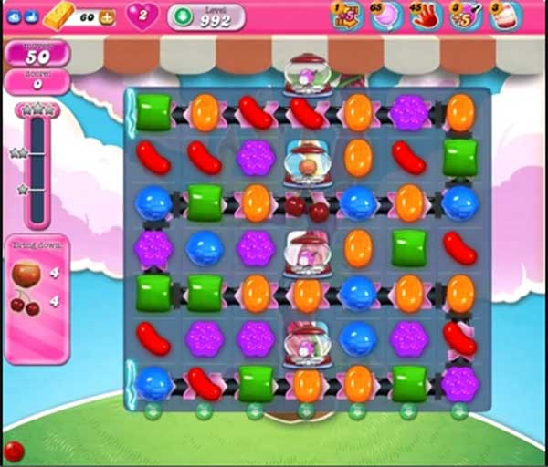 candy crush level 992