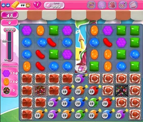 candy crush level 993