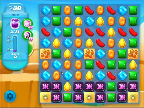 candy crush soda level 392