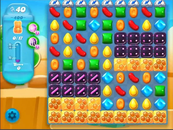 candy crush soda level 400