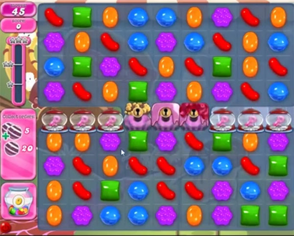 candy crush level 1045