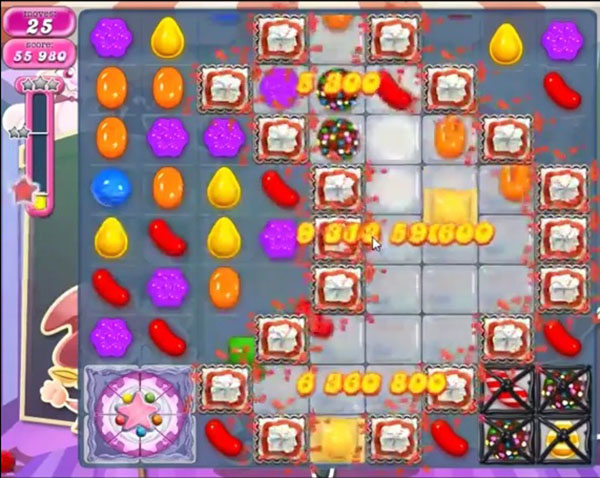 candy crush level 1087