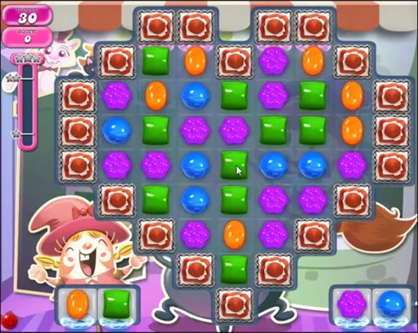 candy crush level 1100