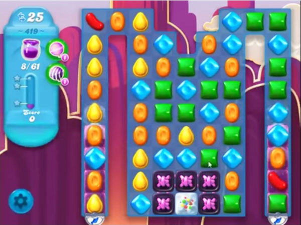 candy crush soda level 419