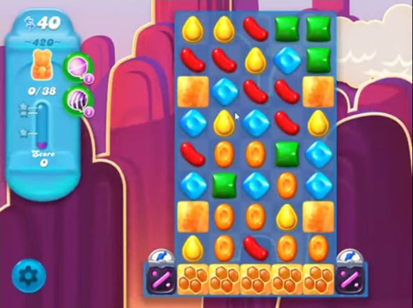 candy crush soda level 420