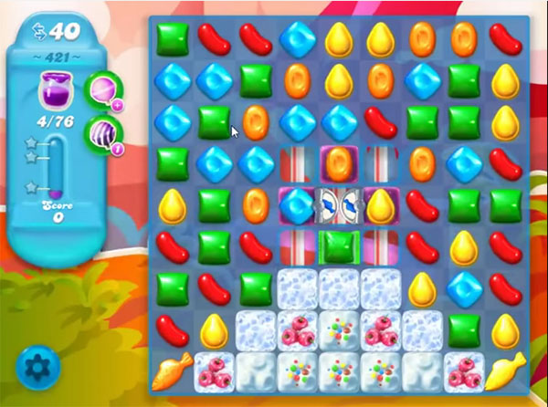 candy crush soda level 421