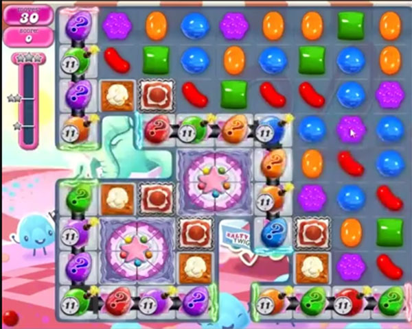 candy crush level 1118