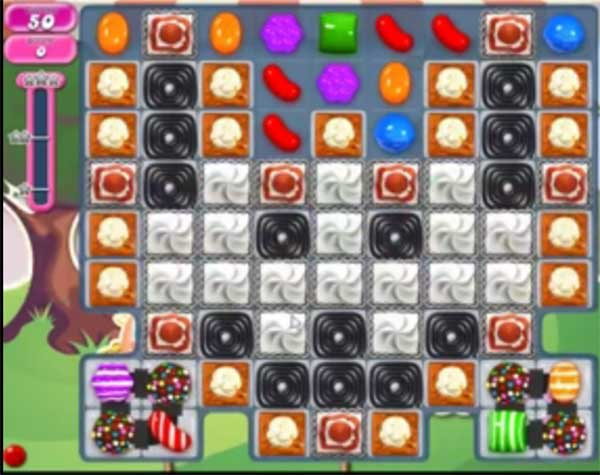 candy crush level 1136