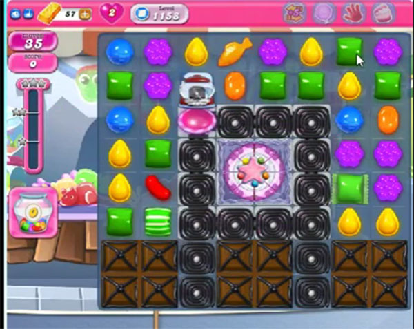 candy crush level 1158