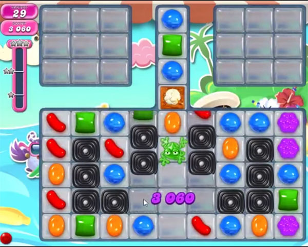 candy crush level 1166