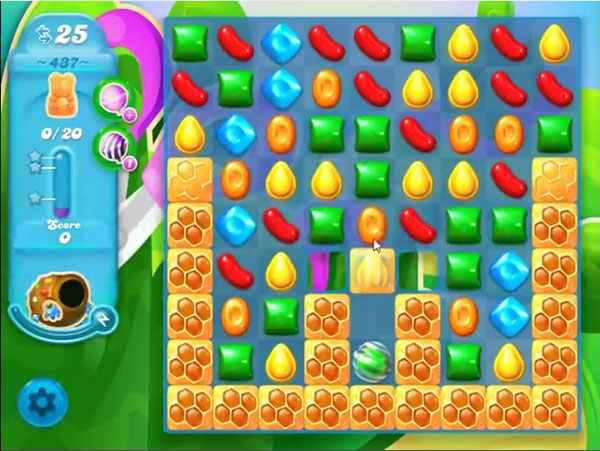 candy crush soda level 437