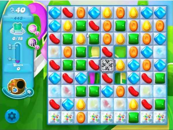 candy crush soda level 443