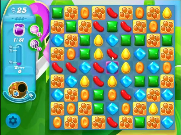 candy crush soda level 444