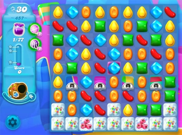 candy crush soda level 457
