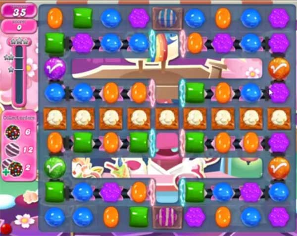 candy crush level 1187