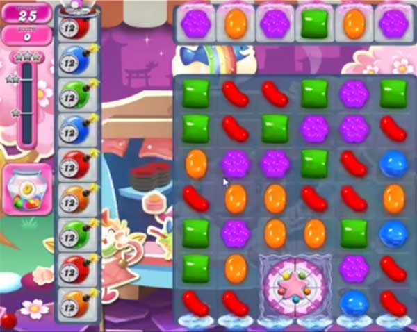 candy crush level 1190