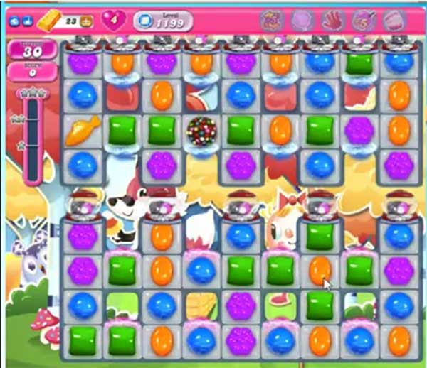 candy crush level 1199
