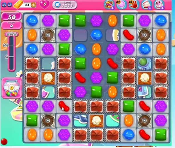 candy crush level 1211