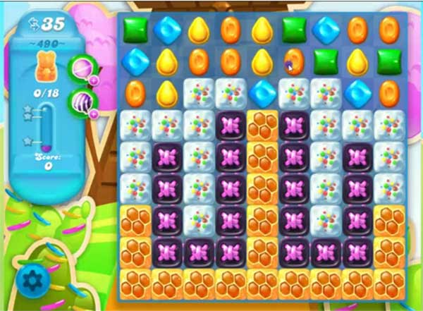 candy crush soda level 490