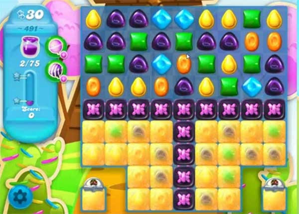 candy crush soda level 491