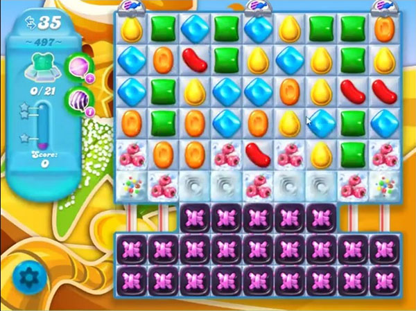 candy crush soda level 497