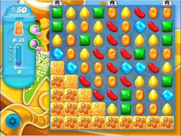 candy crush soda level 499
