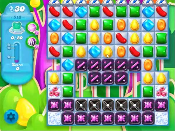 candy crush soda level 518