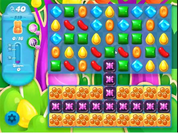 candy crush soda level 519