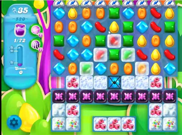 candy crush soda level 520