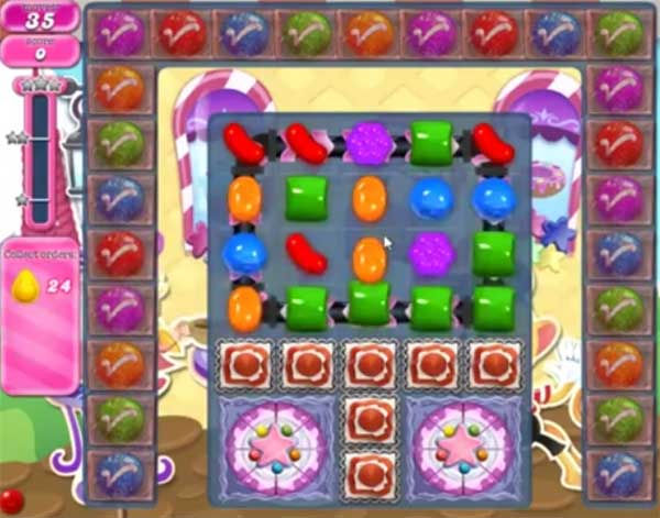 candy crush level 1258