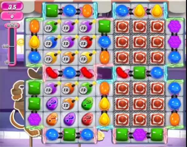 candy crush level 1267