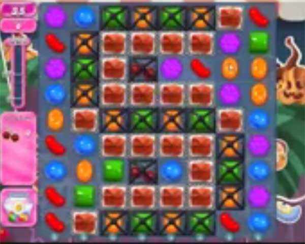 candy crush level 1296