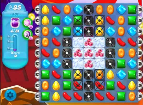 candy crush soda level 531
