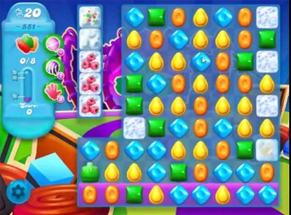 candy crush soda level 551