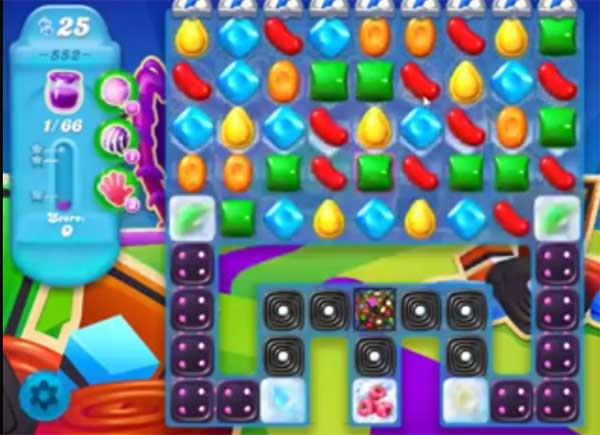 candy crush soda level 552